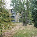 Photo of building of Public Debt Administration of the Unified Economic Area) in Bad Homburg v.d.H.
